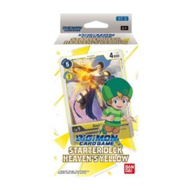 Digimon Card Game Series 01 Starter Display 03 Heavens Yellow