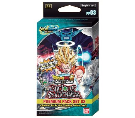 Dragon Ball Super Card Game Unison Warrior Series 12 UW3 Vicious Rejuvenation Pr