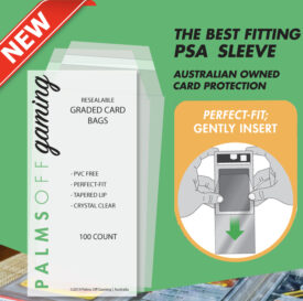 PSA Mint-Fit Sleeves - Regular 100pc
