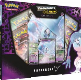 POKÉMON TCG Champion's Path Collection - Hatterene V Box
