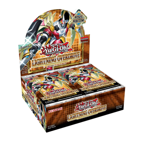 YU-GI-OH! TCG Lightning Overdrive Booster x9 cards