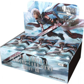 Final Fantasy Trading Card Game Opus XIII Booster Display