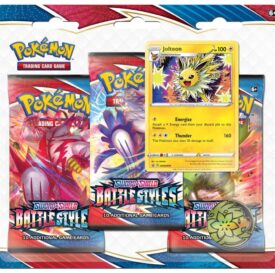 POKÉMON TCG Sword and Shield – Battle Styles Three Booster Blister