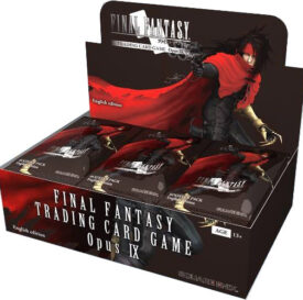 Final Fantasy Trading Card Game Opus IX Display Box