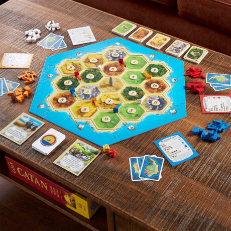 Catan Trade Build Settle