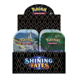 Pokemon TCG shining fates tin set