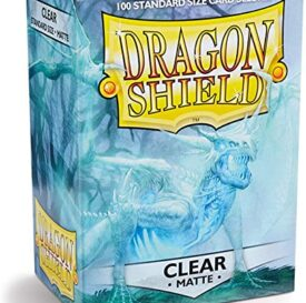 Sleeves Dragon Shield Box 100 Clear Matte