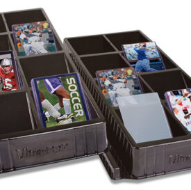 Ultra Pro Toploader & One Touch Card Sorting Tray