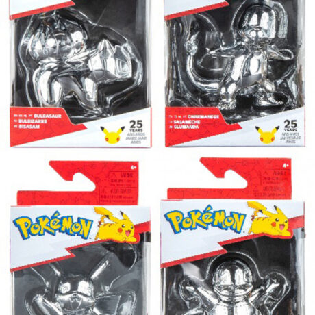Pokemon Select Battle Figure Assortment Silver 25th Anniversary 6 In The Assortment 90866 3d49a